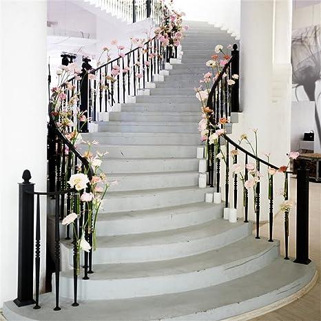 LFEEY 8 x 8 ft boda Birdal Ducha fondos fotos niñas Adutls niños retrato foto bota flores decorado escalera escaleras fotografía fondo foto estudio Props: Amazon.es: Electrónica