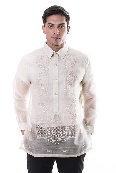 Bw Filipino Silk Pina Barong Tagalog 001 At Amazon Mens Clothing Store