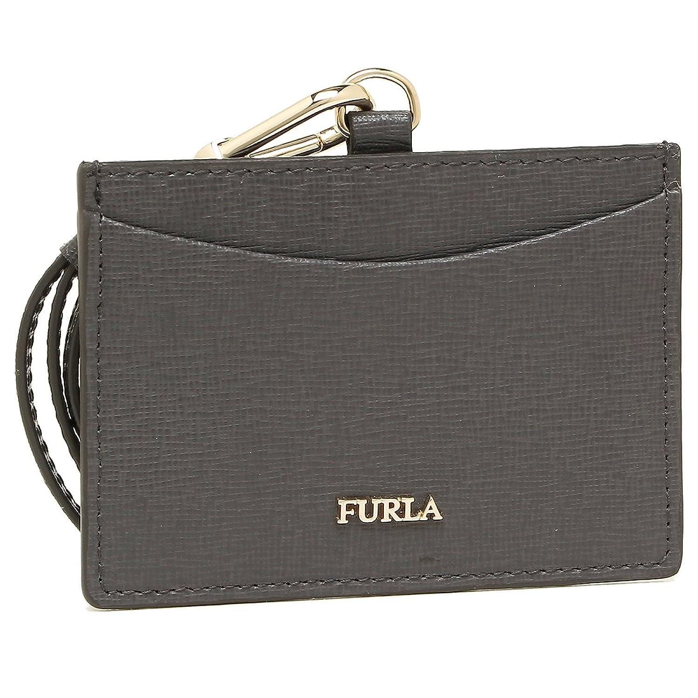 フルラ カードケース FURLA 921885 PT27 B30 M63 LINDA S BADGE HOLDER リンダ IDケース ネックストラップ レディース 名刺入れ MERCURIO d [並行輸入品] B079FKN5RL