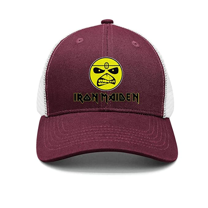 Shihangya Man Heavy-Metal-Band-Iron-Maiden- Snapback hat Trucker Hats bb52dcf7dbc