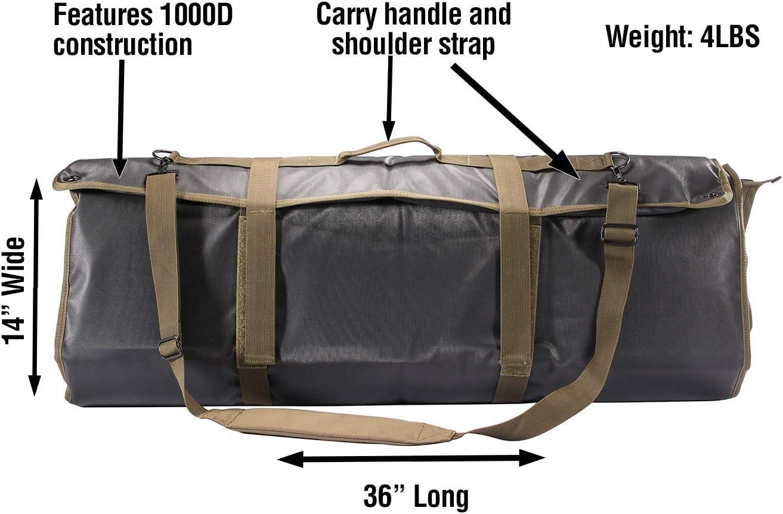 Tac-Mat Long Range Shooting Mat Black