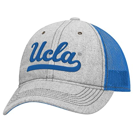 54d27989cd26a Image Unavailable. Image not available for. Color  adidas UCLA Bruins NCAA  Lifestyle Adjustable Slouch Meshback Hat