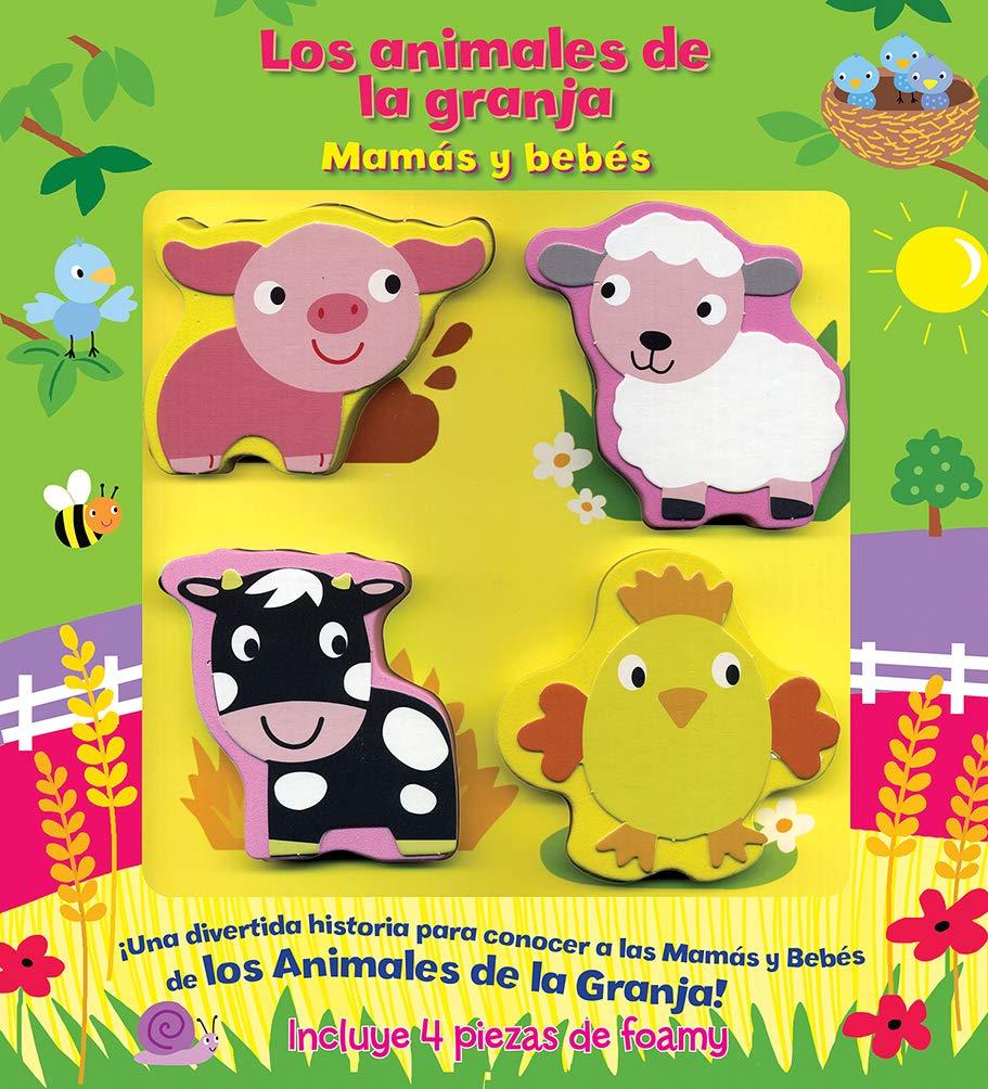 Animales De La Granja Mamas Y Bebes Silver Dolphin Bookworks 9786075322551 Books