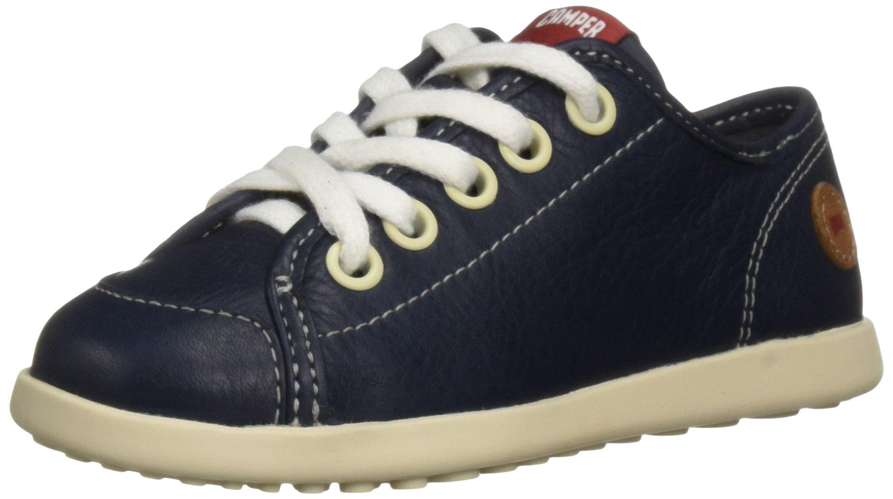 Camper Kids Unisex-Kids Noon K800167 Sneaker, Navy, 27 M EU Little Kid (10 US)