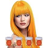 4 x La Riche Directions Semi-Perm Hair Colour Apricot (ALL COLOURS Avail) 4x 88ml