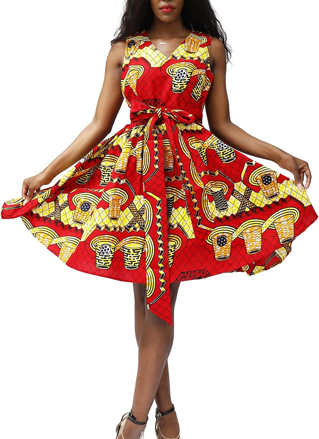 Ankara DRessAfrican Print DressDashiki Dress