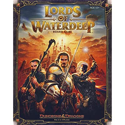 Lords of Waterdeep: A Dungeons & Dragons Board Game: Rodney Thompson, Peter Lee: Toys & Games