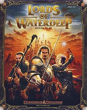 Wizards of the Coast - Juego de Mesa, «Dragones y Mazmorras: Señores de Aguas Profundas»: Wizards RPG Team: Amazon.es: Juguetes y juegos