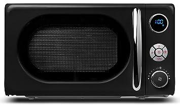 Microondas 18028 Negro: Amazon.es: Grandes electrodomésticos