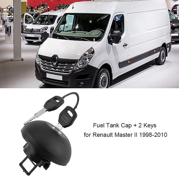 Qiilu Tapa de tanque de combustible Cubierta Diesel con 2 llaves: Amazon.es: Electrónica