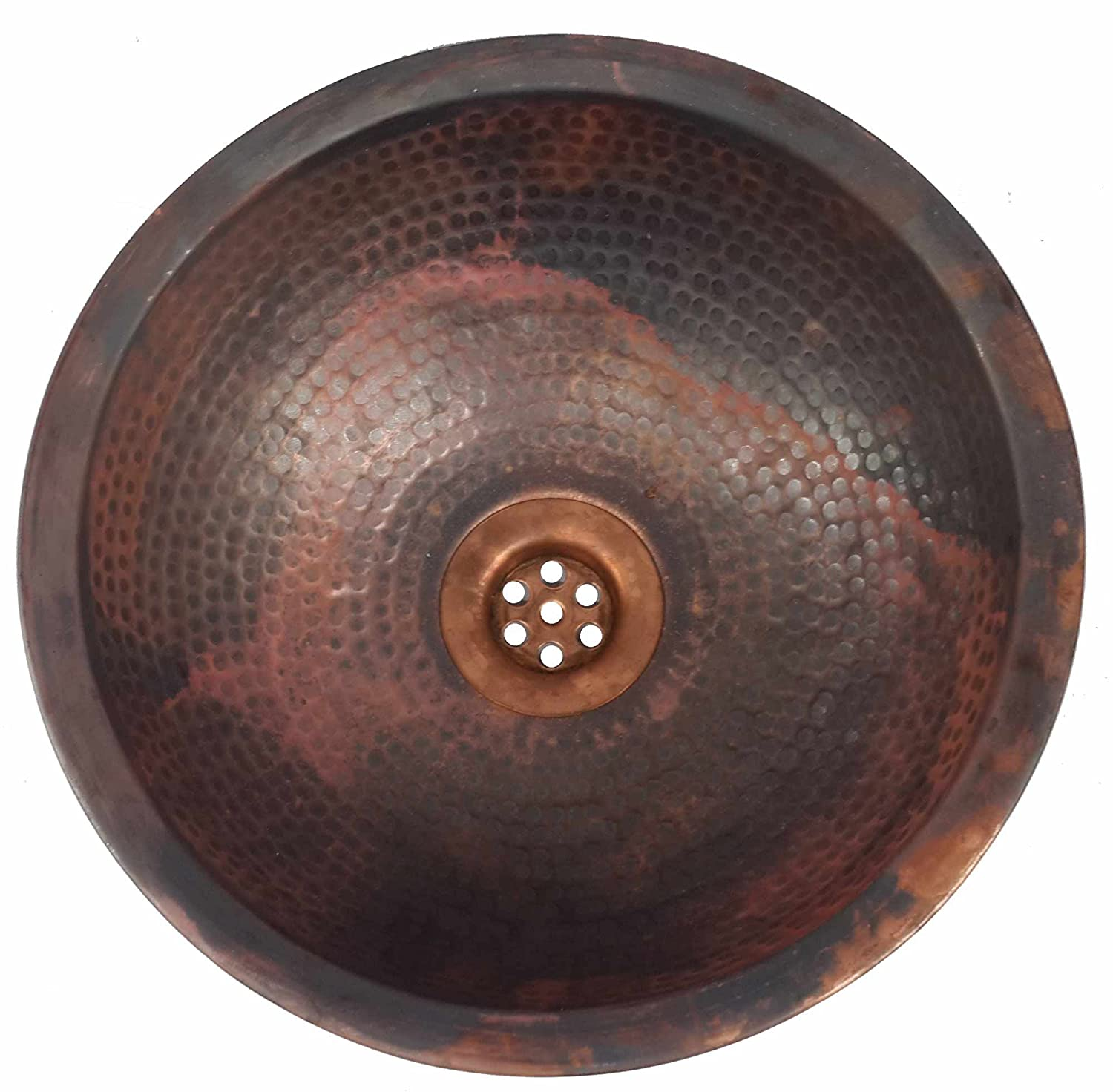 Egypt gift shops Dome Fire Patina VERY SMALL Narrow Places Vanity Innovative Copper Bath Sink House Remodel