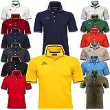 Kappa POLO UOMO PIQUET MARE SPORT TENNIS CALCIO T-shirt MALTAX 302MX50 5 MSS COL F46 BLUE-RED-WHITE