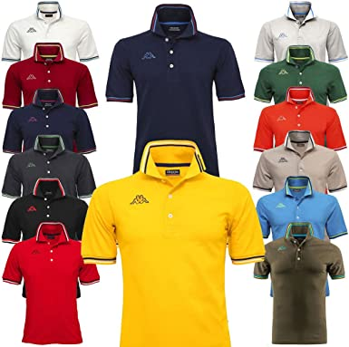 Kappa Polo Hombre Piquet Mare Sport Tennis Fútbol Camiseta Maltax ...