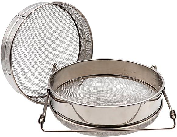 Beekeeping Stainless Steel Double Honey Filter Strainer Set