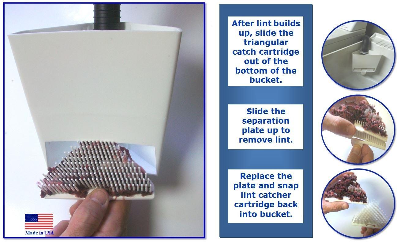 Reusable Washing Machine Lint Trap