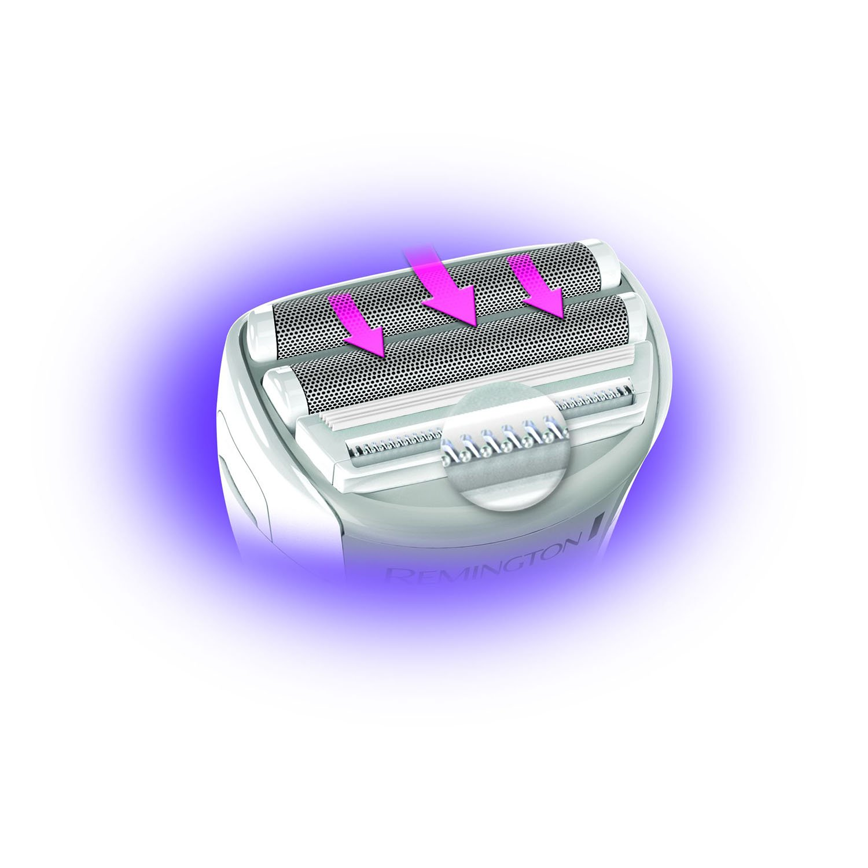 Remington Womens Dual Foil Shaver, Purple