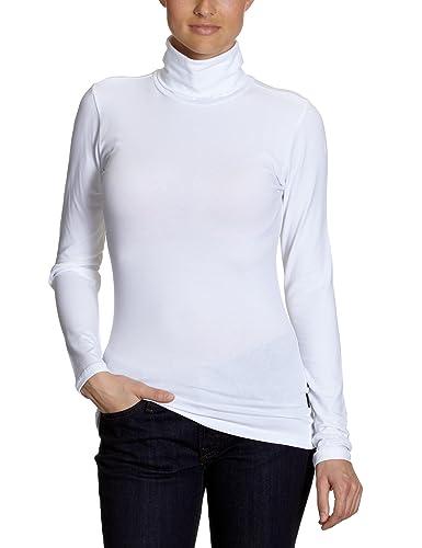 Only 15046218 - Blusa de Manga Larga, con Cuello Cisne Para Mujer