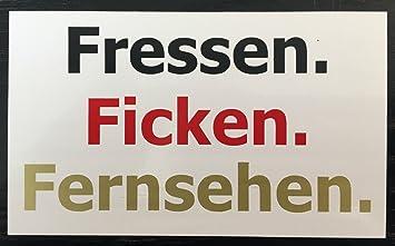 Scoobagoodies Auto Aufkleber Sticker Deutschland Flagge D