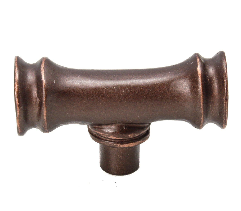 Carpe Diem Hardware 2377-22 Coastal Living Bamboo knob Oil Rub Bronze 2377.2199999999998 Large