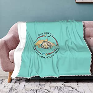 CHHCAC Home Page Pompom Edge Blankets are Stylish and Warm Double Blanket