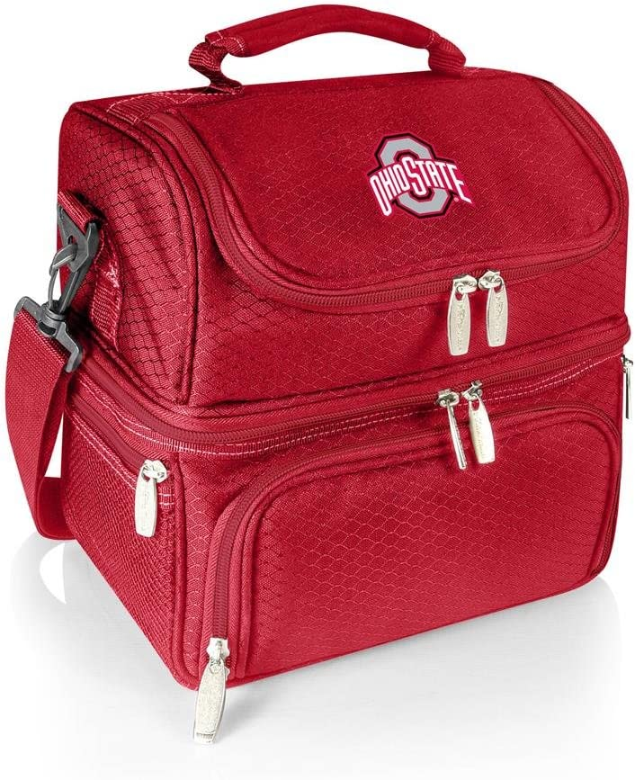 ONIVA - a Picnic Time brand Ohio State Buckeyes - Pranzo Lunch Cooler Bag, (Red)