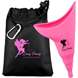 Female Urinals Portable -Reusable Female Urinal Allows Women to Pee Standing Up! No-Leaks, No-Splash, Easy to use Design…