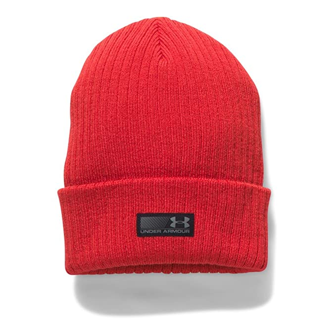 a586bd8d6bb89 Amazon.com  Under Armour Men s Truck Stop Beanie  Clothing