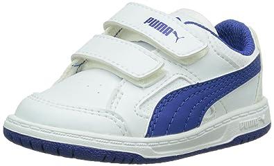 edb849436864 Puma Baby Boys  Rebound V2 Lo Trainers White Size  3 Child UK ...