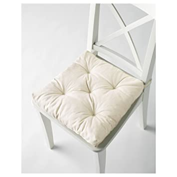 IKEA MALINDA Chair Cushion (1, White)