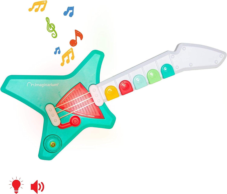 Imaginarium Baby Guitar Guitarra con Luces para bebés: Amazon.es ...