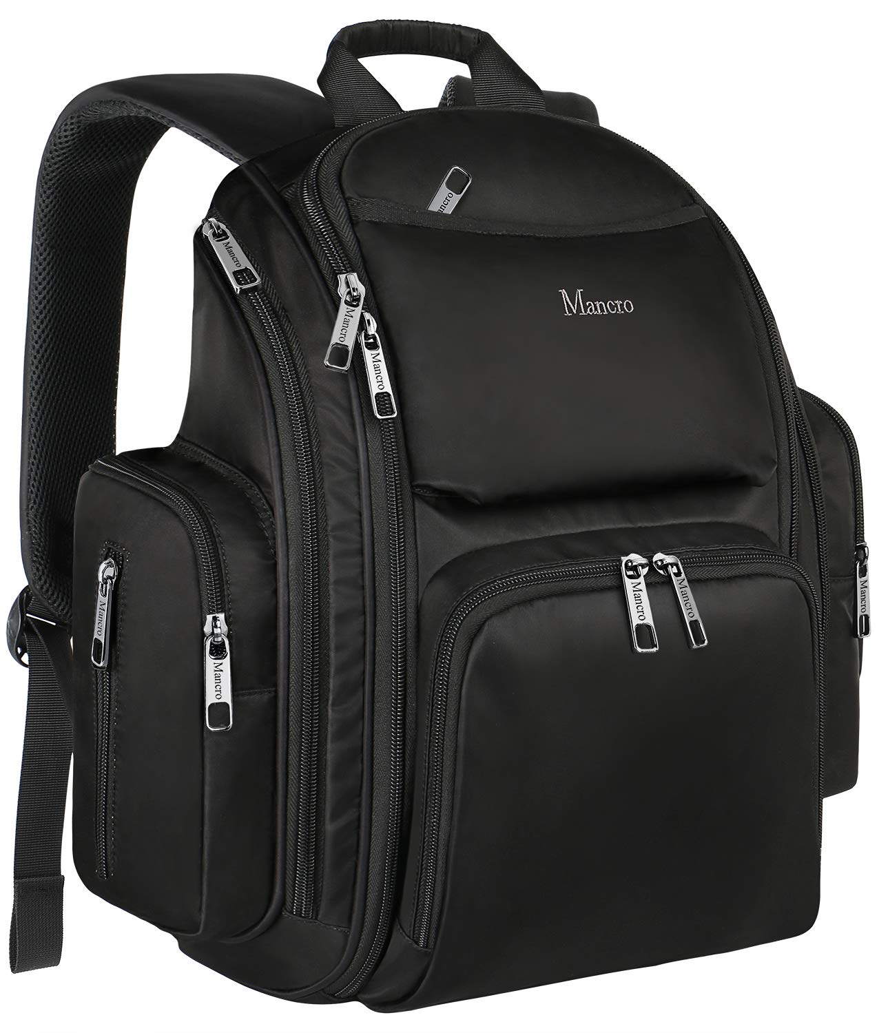 0dc772c16f39 Backpack Diaper Bag, Waterproof Baby Travel Bag for Dad and Men, Large  Multi-Function, Many Pockets,...