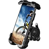 Bike Phone Holder, Motorcycle Phone Mount - Lamicall Motorcycle Handlebar Cell Phone Clamp, Scooter Phone Clip for Phone 11 /
