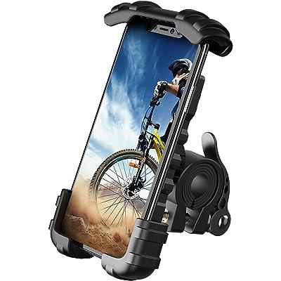 "Lamicall Soporte Movil Bicicleta, Soporte Motocicleta - Universal Rotación 360° Soporte Manillar para Phone 11 Pro MAX, XS MAX, XR, X, 8, 7, 6S, Samsung S10 S9 S8 S7, Huawei, 4.7-6.8"" Smartphones"