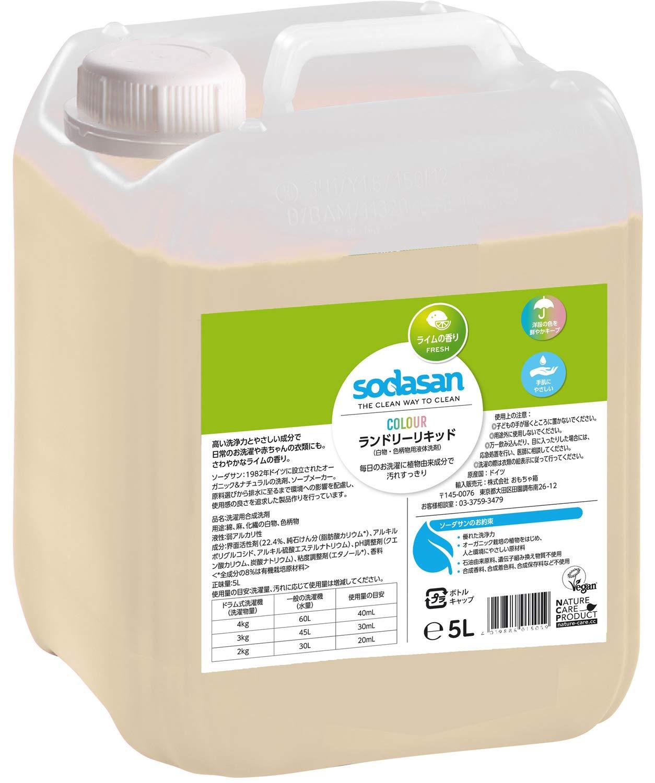 Sodasan de Color Líquido Lima - 5l: Amazon.es: Alimentación y bebidas