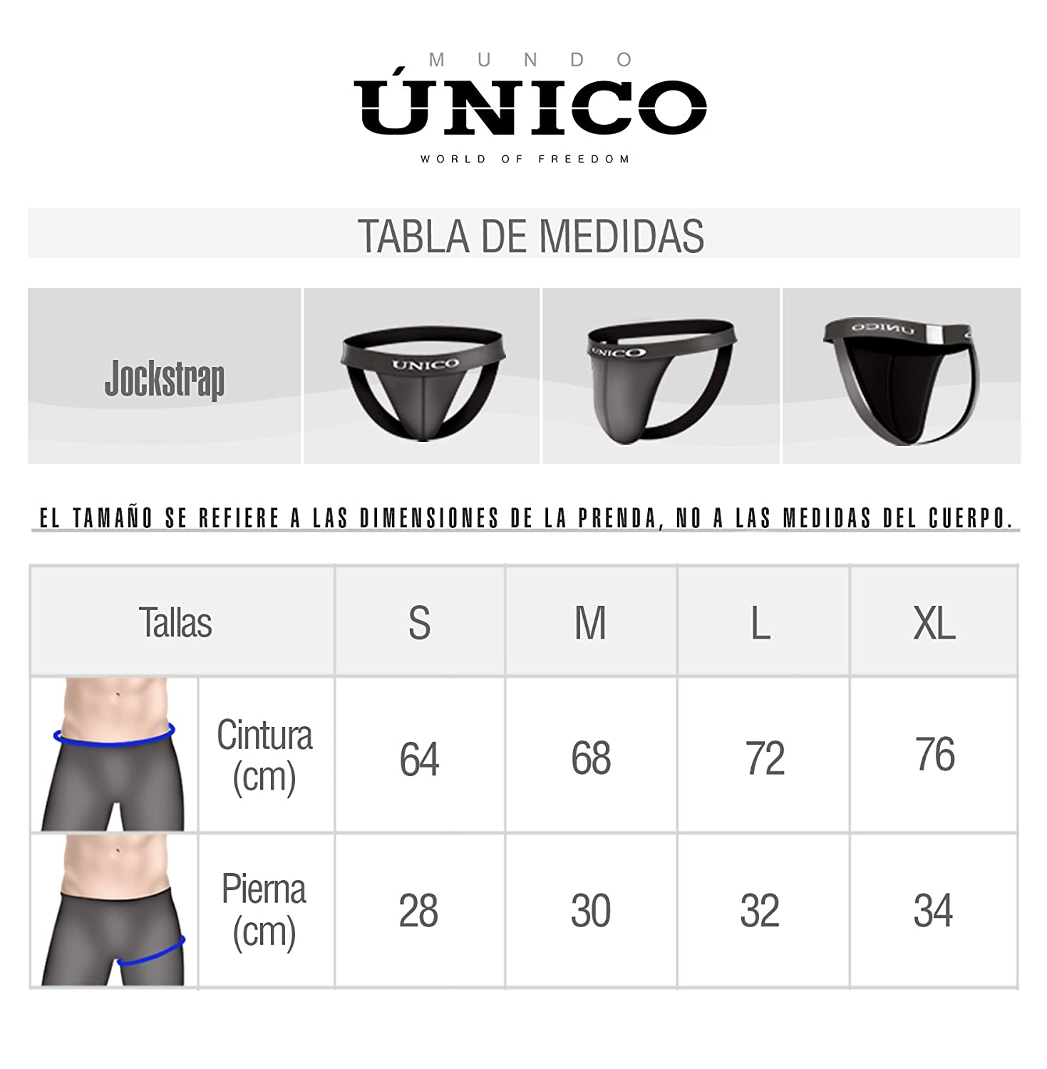 Mundo Unico Men Jockstrap Colombian Underwear Ropa Interior Colombiana de Hombre XL at Amazon Mens Clothing store: