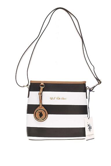 b2895feae7 Us Assn Polo Women s bag Handbag US16S093 03BK External uspa 093 bag Black  Size  One