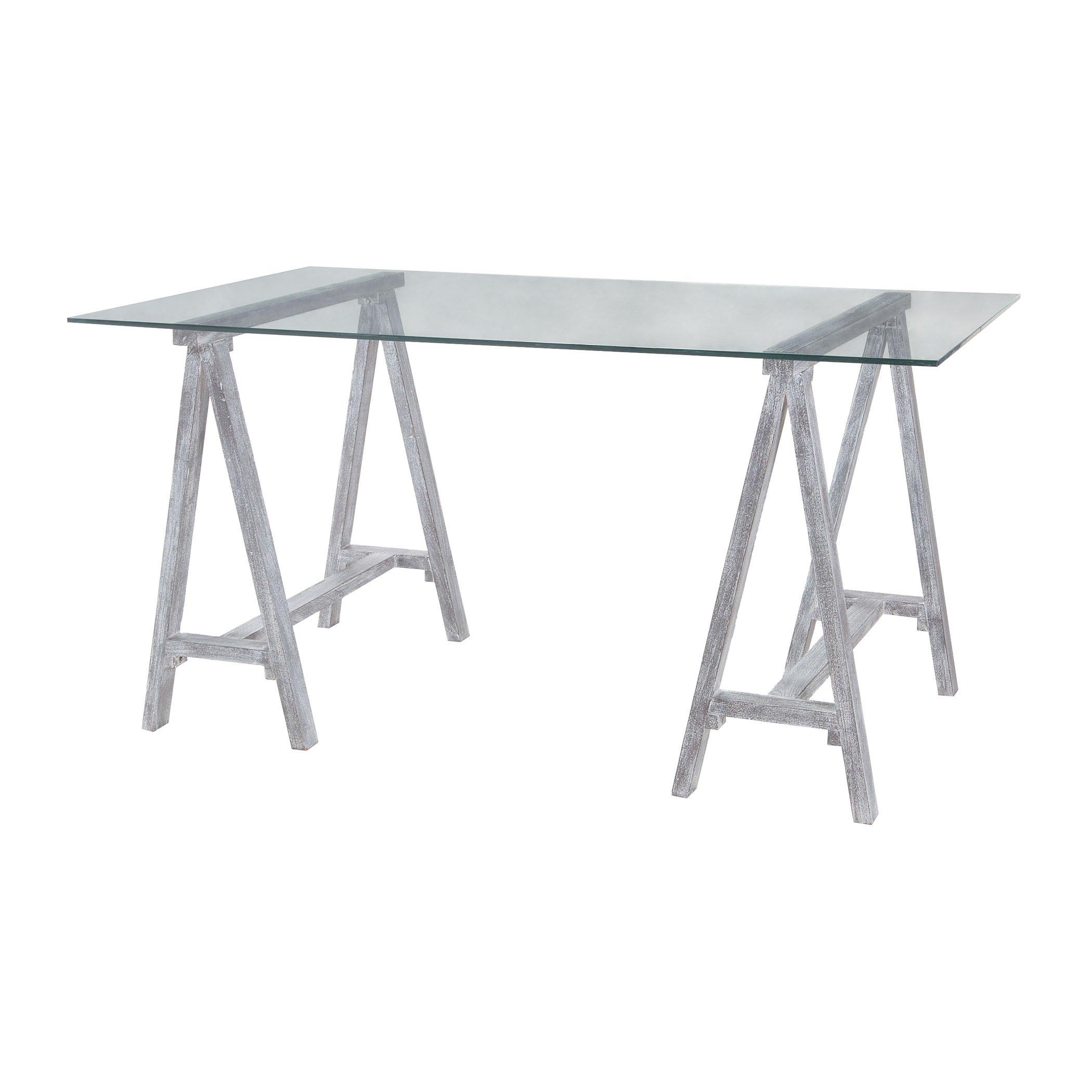 Dimond Home 7011-011 Coastal Cool Architects Table, 60'' x 36'' x 31''
