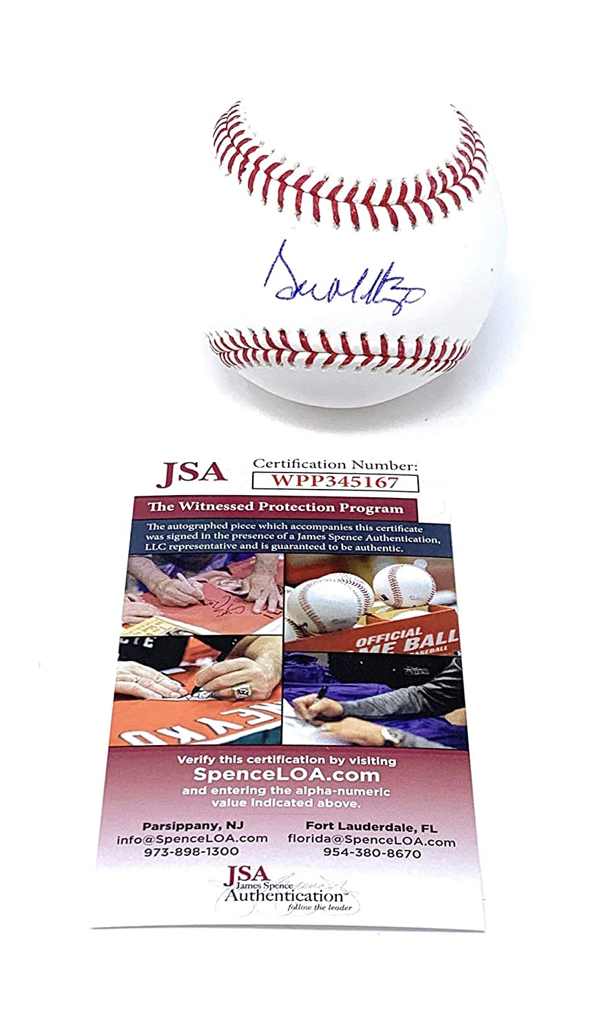 Don Mattingly New York Yankees Signed Autograph Official MLB Baseball JSA Witnessed Certified