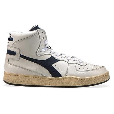 Diadora Heritage - Sneakers MI Basket Used für Mann und Frau DE 36.5 ca71e3edf5