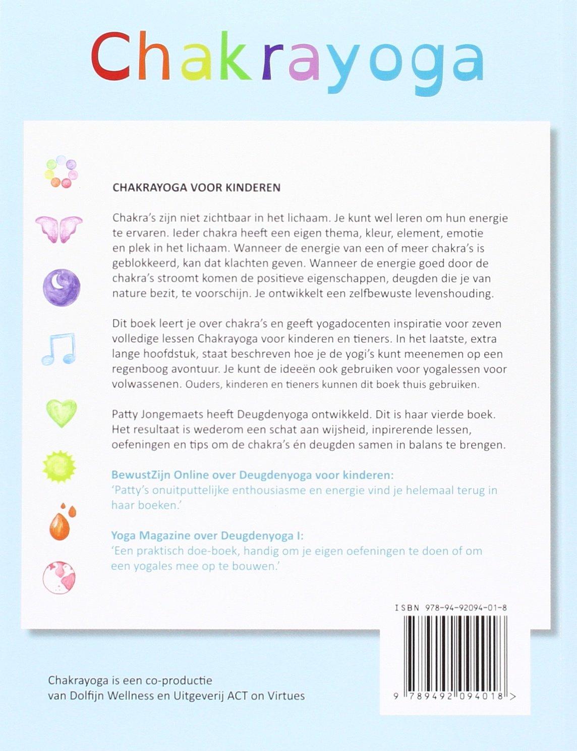 Chakrayoga voor kinderen: Amazon.es: Patty Jongemaets, Annet ...