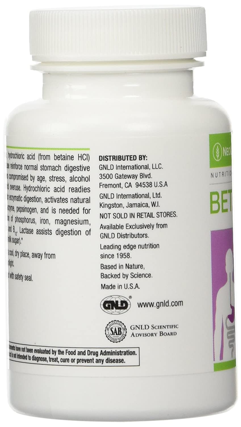 Neolife Beta-Gest Stomach Targeted Digestion Aid, by GNLD