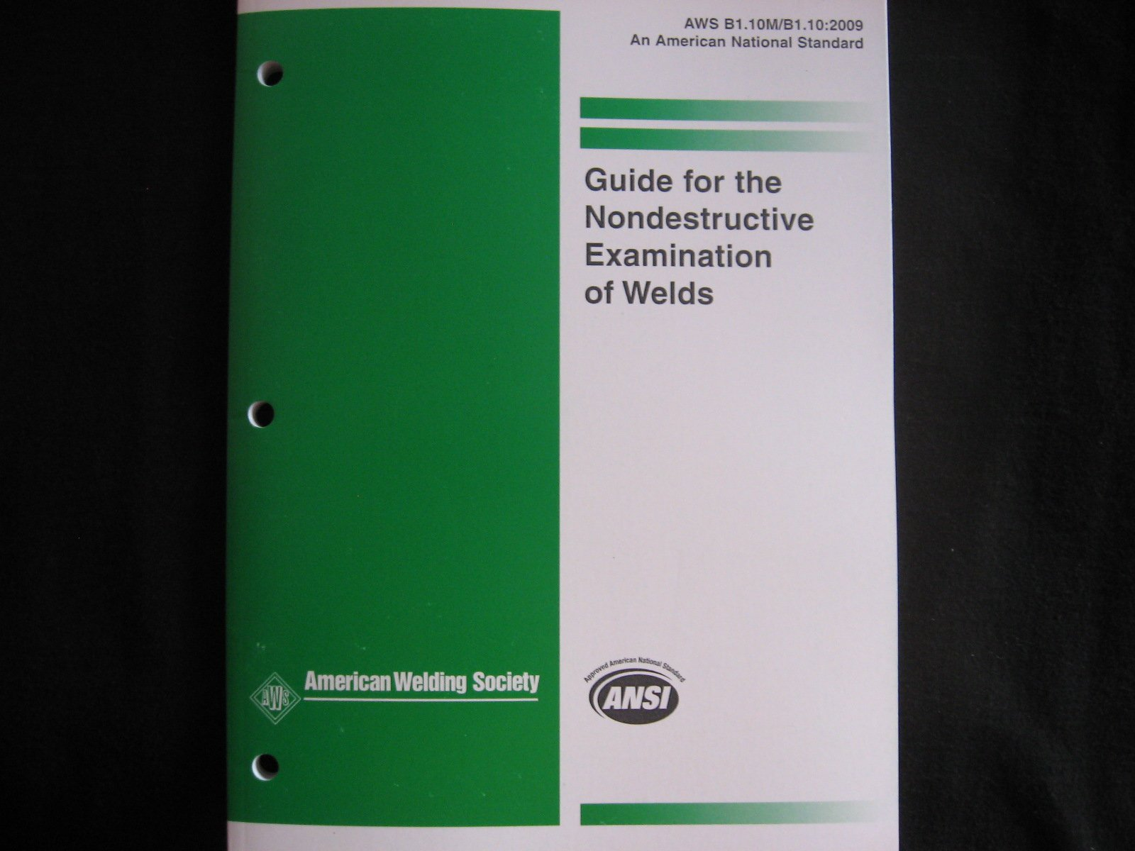 Guide for the nondestructive examination of welds 4th ed aws guide for the nondestructive examination of welds 4th ed aws 9780871717573 amazon books biocorpaavc Images