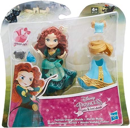 Princesas De Moda De Disney Little Kingdom Con Vestidos Y Accesorios Juego De Figuras Para Niños Para Jugar Y Coleccionar Mérida Amazon Es Juguetes Y Juegos