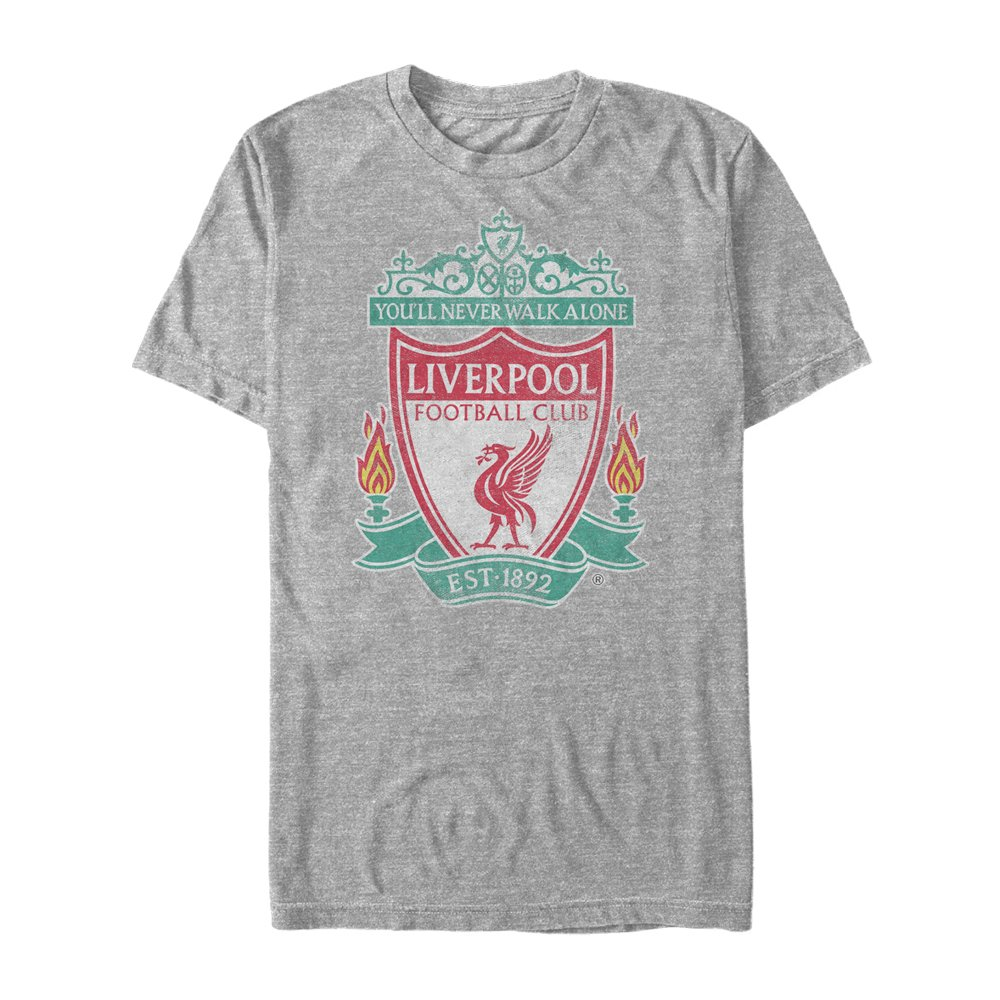 Fifth Sun Official Liverpool Fc Full Color Logo Mens Tee