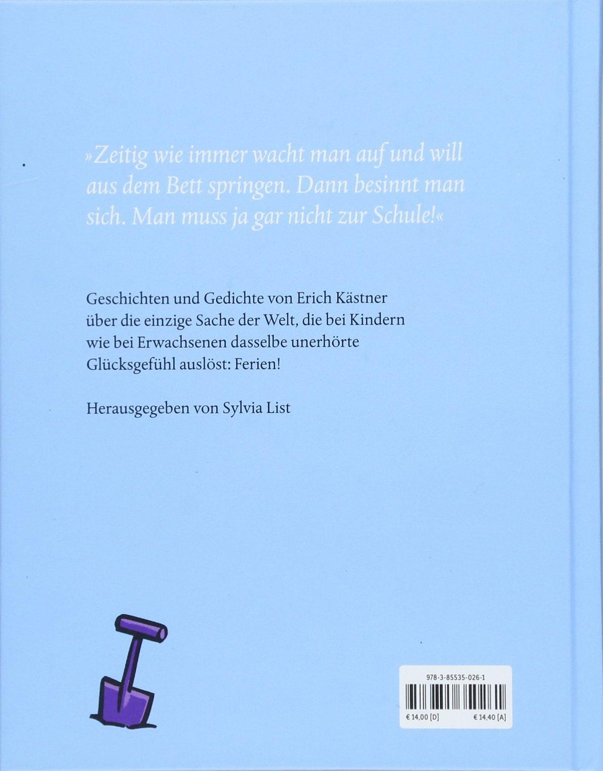 Hurra Ferien Erich Kästner 9783855350261 Amazoncom Books
