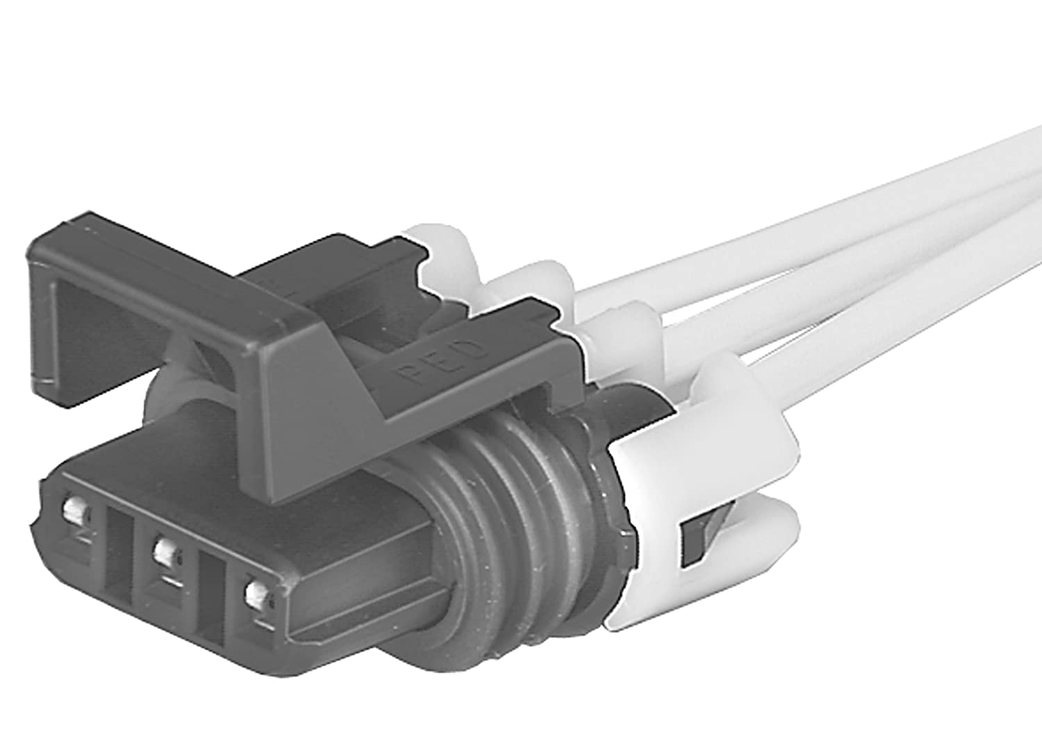 Acdelco Pt420 Gm Original Equipment 3 Way Female Black Wiring Connectors Multi Purpose Pigtail Automotive