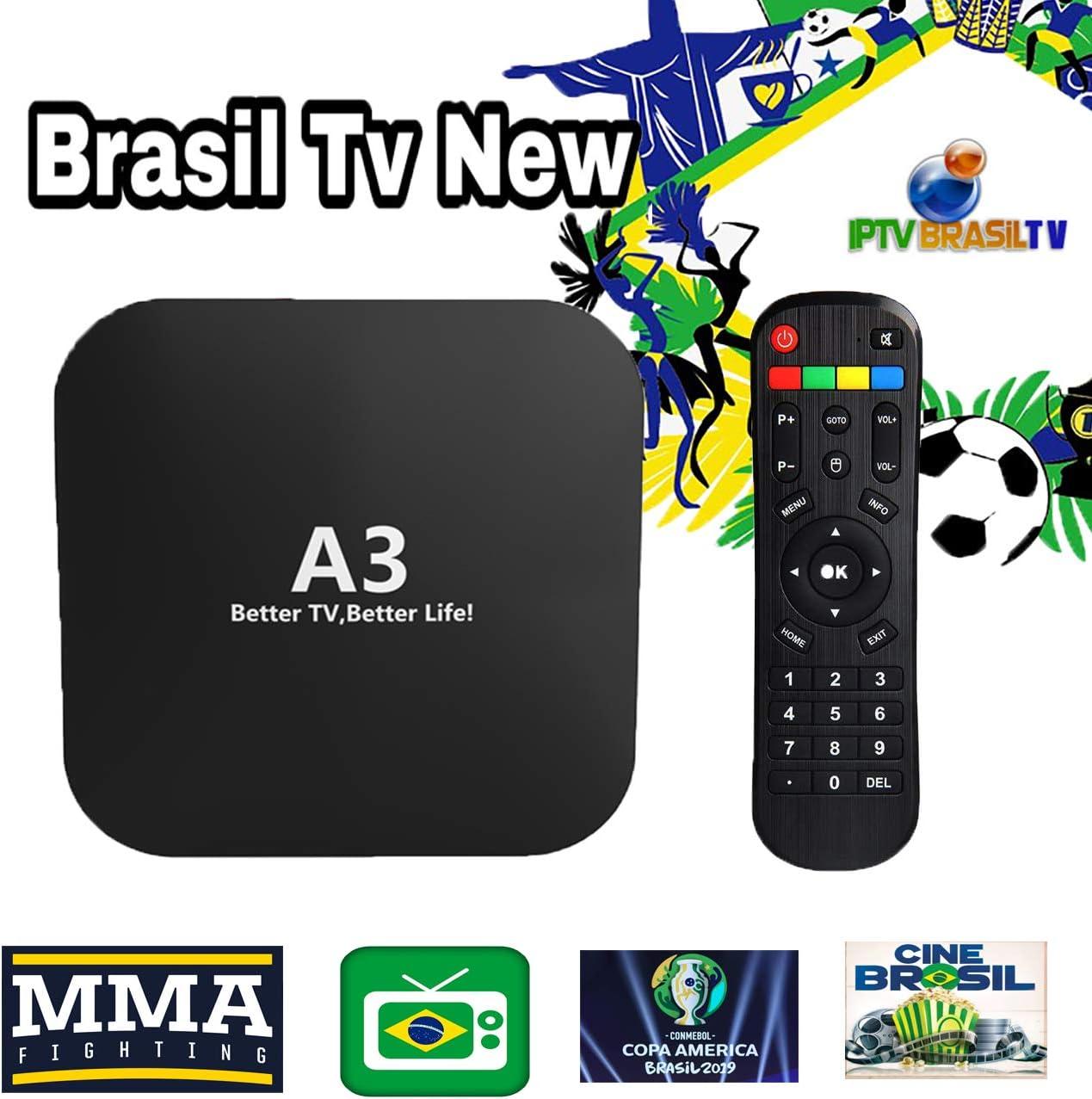 IPTV Brasil más Reciente A3 Box Update de A2 HTV 5 6 IPTV 5 6 Plus ...