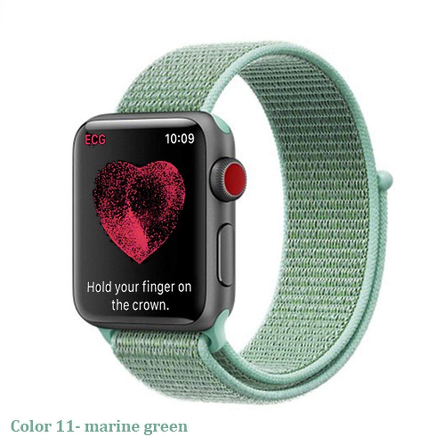 Amazon.com: Sport Loop Strap for Watch Band 4 44mm 40mm ...