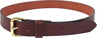 product image for Mens Duluth Branded Pack Leather Belt | DP-202 | Handmade in USA (Brown, 40, 1.5 inches)