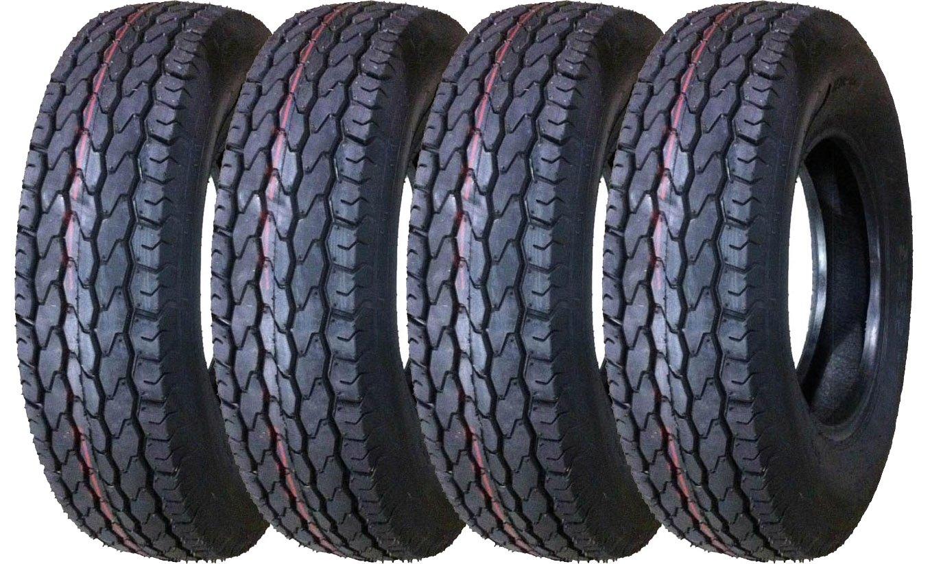 4 New Premium Trailer Tires ST 225/75D15 Deep Tread - 11022 …